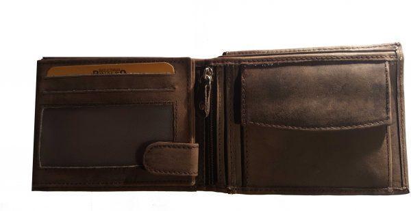 büffel leder portemonnaie innen