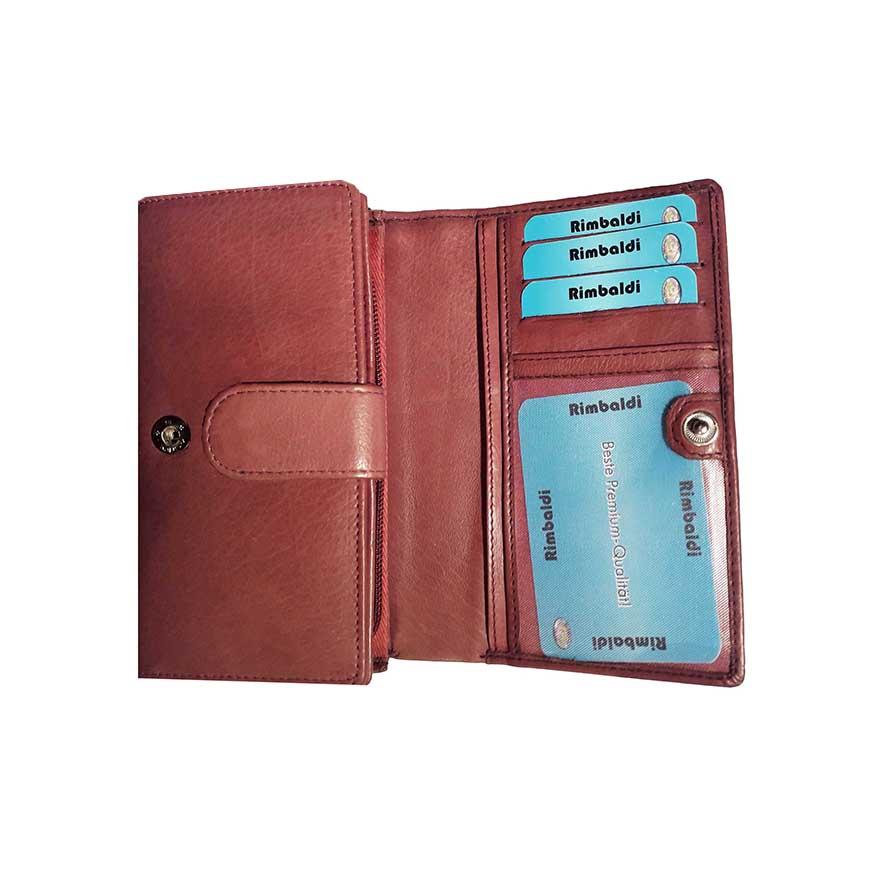 ad30c6ce5a737 Damen Portemonnaie mit vielen Kartenfächern