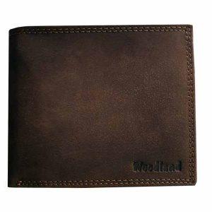Woodland Portemonnaie aus Büffelleder (braun)